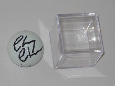 Caddyshack Chevy Chase Hand Signed Autographed Titleist Golf Ball with Display Cube Loa (Script Christmas Lampoons Vacation National)