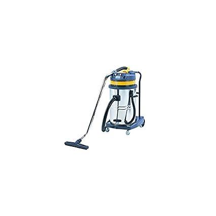 Q-Connect 972480 aspirador industrial limpieza en seco agua ruedas ...