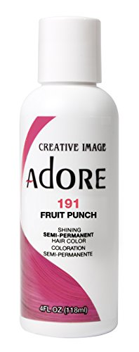 Adore Semi-Permanent Haircolor #191 Fruit Punch 4 Ounce (118ml)