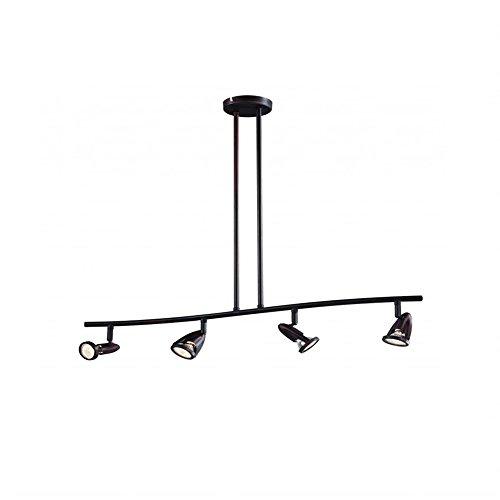 Transglobe Lighting W-466 ROB Track Light, Rubbed Oil Bronze Finished 50%OFF