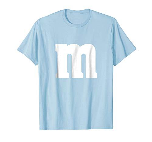 MM Candy Sweets Easy Fancy Dress T-Shirt Kids Adults -