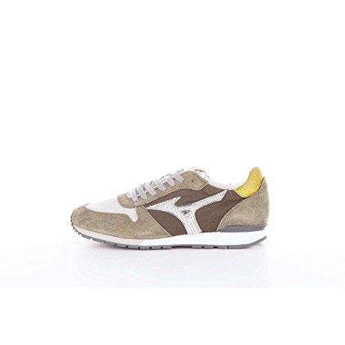 MIZUNO 1906 scarpe uomo sneakers basse D1GB174421 ETAMIN Verde militare+Bianco