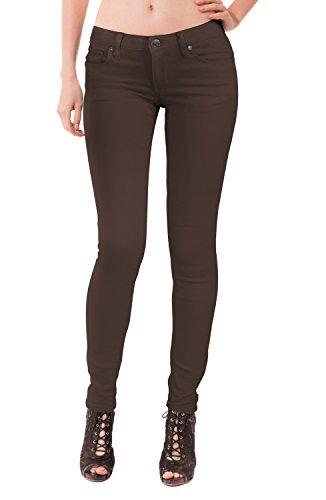 Company Jeans Hybrid Donne Marrone Elasticizzati Per amp; Pq5w5RB8