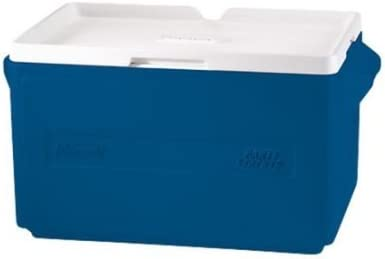 Amazon Com Coleman 48 Can Party Stacker Cooler Blue Blue Kitchen Dining