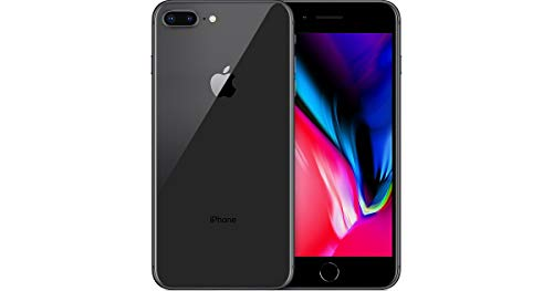 Apple iPhone 8 Plus, GSM Unlocked, 64GB - Space Gray (Renewed)