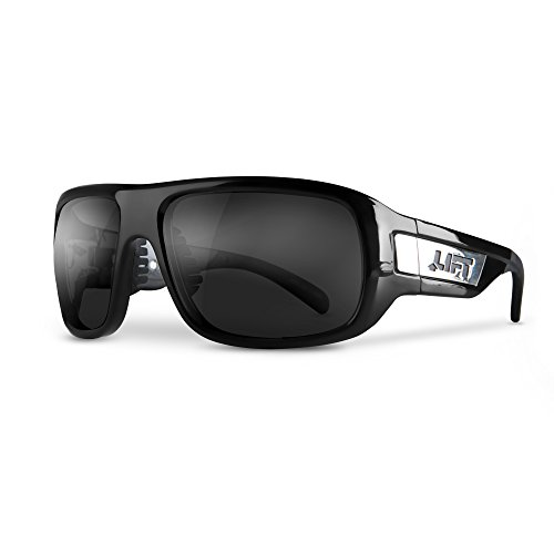 LIFT Safety Bold Safety Glasses (Black Frame/Smoke ()