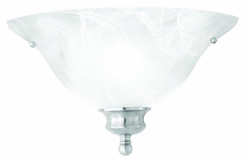 (Thomas Lighting SL853178 Wall Essentials Wall Light, Brushed Nickel)