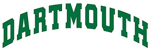 SellingDecals ncaa0263 Dartmouth Big Green Font Logo Die Cut Vinyl Graphic Decal Sticker NCAA Color Choice 8