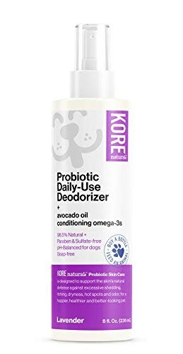 KORE NATURAL Probiotic Daily Use Deodorizer Lavender, 8 Ounce Bottle