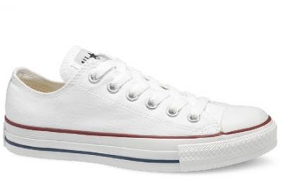 12ae417b9f7d Converse Women s Chuck Taylor Core Ox Fashion Sneaker White 9.5 M US ...