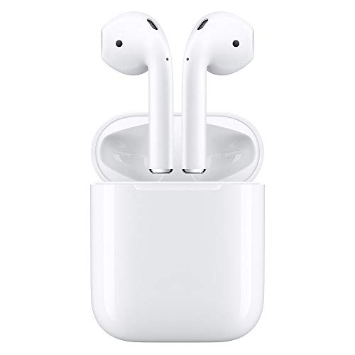 31ZpCALwQXL - Apple MMEF2AM/A AirPods Wireless Bluetooth Headset for iPhones with iOS 10 or Later White