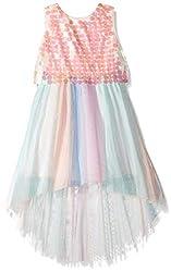 Big Sequin Multi Color Dress