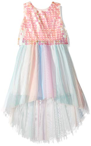 Holiday Dresses Kids - My Michelle Girls' Big Sequin Bodice