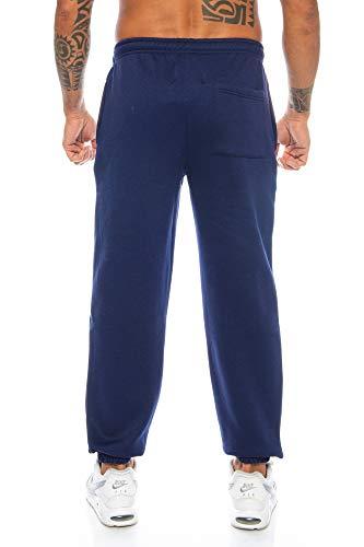 Coton Pour Pantalon Raff Taff Jogging En Sport amp; Homme De Marine 6xl Tailles À M Bleu gAzgv