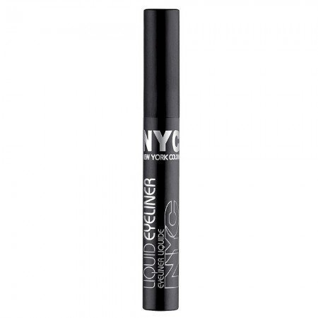New York Color Liquid Eyeliner, Black [887A] 0.17 oz by N.Y.C. by N.Y.C.