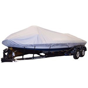 "Dallas Manufacturing Co. Semi-Custom Boat Cover - V-Hull O/B - 19'L, 96"" W (45175) primary"