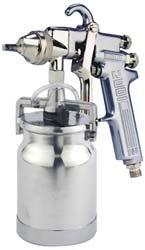 Siphon Spray Gun, 0.070In/1.8mm