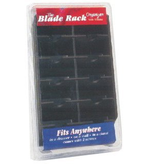 Clipper Blade Rack Holds 10 Blades (Clippers Storage)