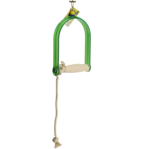 Polly's Twist-N-Arch Bird Swing, Large -