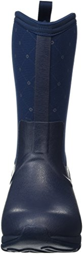 Rubber Winter Boot Boots Women's Navy Quilt Muck Arctic Weekend Mid Height PRqwTXq