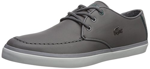Lacoste Men's Sevrin 417 1 Sneaker, Dark Grey, 9 M US