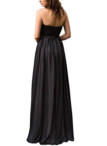 Simple, Couche De Perles Bustier De Dormencir Femmes Les Longues Robes De Soirée De Bal Jaune