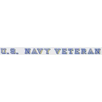 Mitchell Proffitt U.S. Navy Veteran - Window Strip Decal: Automotive