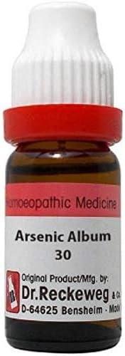 Dr.Reckeweg Arsenicum Album 30 (11 ml) German Homeopathic Medicine