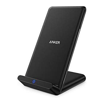 e23164e33de Anker Wireless Charger, Qi-Certified Wireless Charger Compatible iPhone  XR/XS Max/XS/X / 8/8 Plus, Samsung Galaxy S9/S9+/S8/S8+/S7/Note 8, and  More, ...