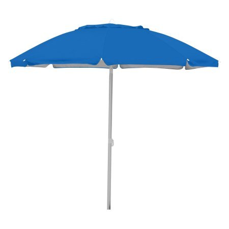 7' Vinyl Doll (7' Caribbean Joe beach umbrella, double canopy windproof design with UV protection, with color matching carry case)