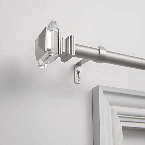 Exclusive Home Curtains Prism Curtain Rod and Finial Set 66