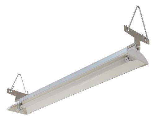 Sun Blaze T5 HO Supreme Fluorescent Strip Light Fixture with Reflector Sun Blaze T5 HO Supreme 21-2 ft 1 Lamp
