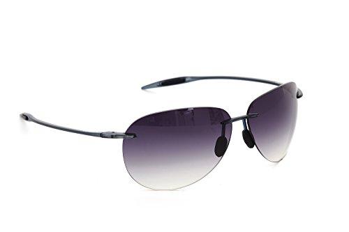 DESPADA , Made In ITALY Sports Designer Fashion Driving Super light Frame with UV Lenses for Men Sunglasses DS1300C5 (Matte Grey, Dark - Super Italy Sunglasses