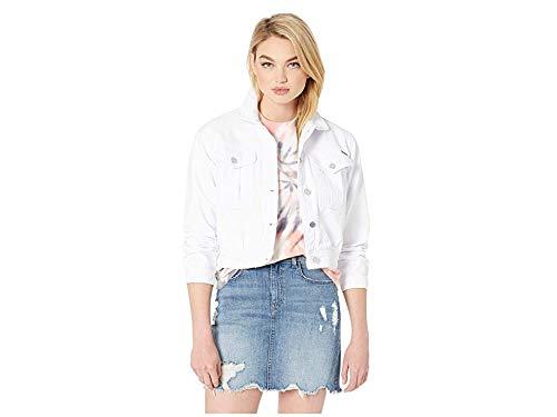 (Volcom Women's Fix It Denim Jacket White Large)