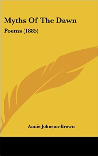 Book Myths of the Dawn: Poems (1885)
