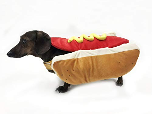 Hot Dog Costume with Bag of Treats (X-Large) -