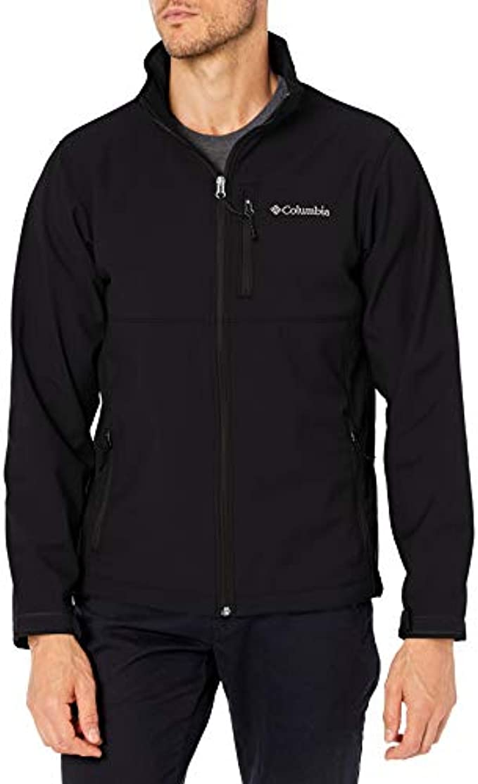 Columbia Ascender Softshell Jacket (Men's) : Color - Black, Size - Large (B00HQ4KSMI)