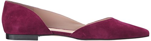 Pink Women's LTD Fisher Toe Flat Sunny4 Pointed Dark Marc 8avqwBw