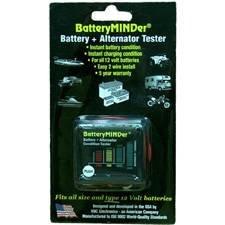 Battery Condition Indicator - BatteryMINDer 12 Volt Battery Condition Indicator