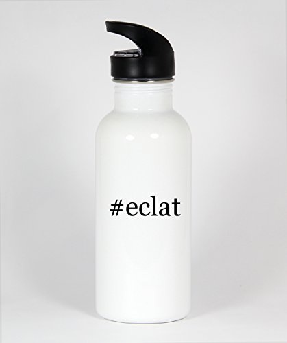 #eclat - Funny Hashtag 20oz White Water Bottle
