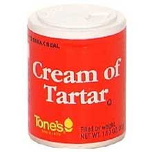 Tones Cream of Tartar - 1 oz. jar, 144 per case by Tone Brothers