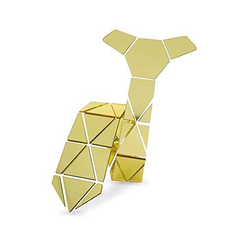 CEKINF Corbata Hecha A Mano De La Forma del Diamante del Triángulo ...
