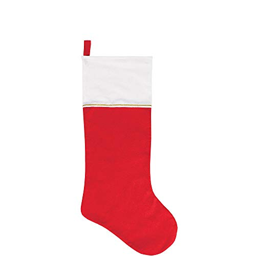 amscan Jumbo Christmas Felt Stocking | Party - Stocking Jumbo