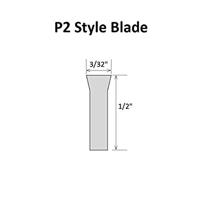 HHIP 2000-6030 3//32 x 11//16 x 5 Inch HSS Parallel Type Cut-Off Blade P3N