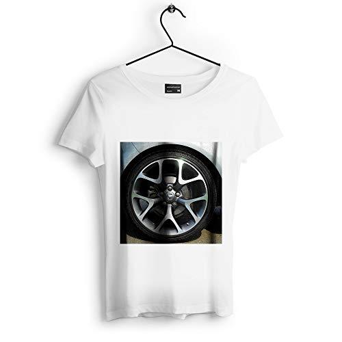Westlake Art - Race Wheel - Unisex Tshirt - Picture Photography Artwork Shirt - White Adult Medium (D41D8) -