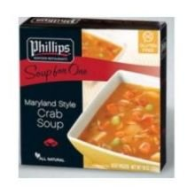 [Phillips Foods Maryland Style Crab Soup, 10 Ounce -- 12 per case.] (Maryland Crab Meat)