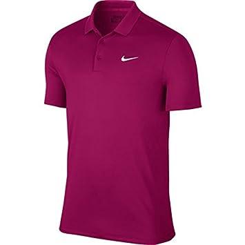 Nike Victory Solid LC Camiseta Polo de Manga Corta de Golf, Hombre ...
