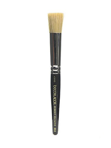 Robert Simmons Series 960 Decorator Stencil Brush 5/8 in. by Robert Simmons