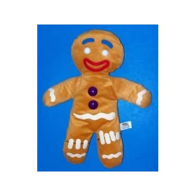 Shrek Gingerbread Man Plush: Office Products