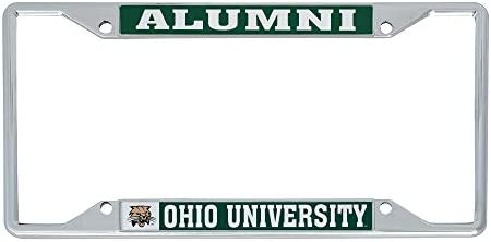 Desert Cactus University of Northwestern Ohio Racers NCAA Metal License Plate Frame for Front or Back of Car Officially Licensed Alumni